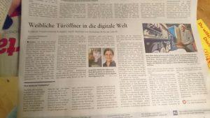 Kodepänz in der Rheinzeitung